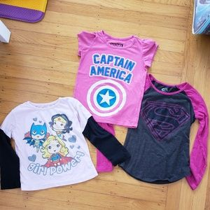 Other - 3 Super Hero Shirts